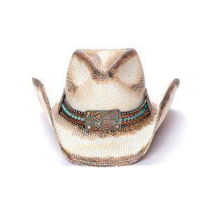 Stampede Straw Cowboy Hat - Sequoia